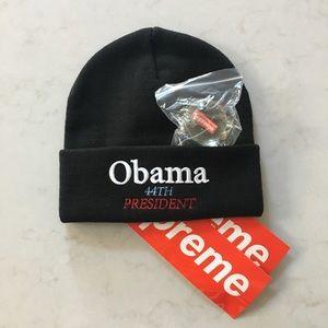 ca1f8ffc4e Supreme Accessories - Supreme Obama Beanie - Black